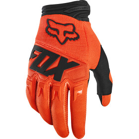 Fox Dirtpaw Race Gloves Youth fluorescent orange